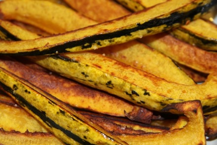 Baked Delicata Squash Steak Fries